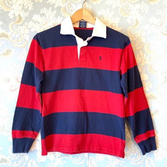 Boys Shirt Polo Ralph Rugby Lauren Medium QthrdsC